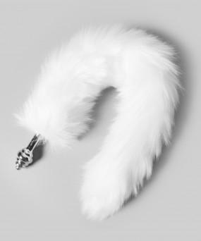 흰 꼬리 애널 플러그